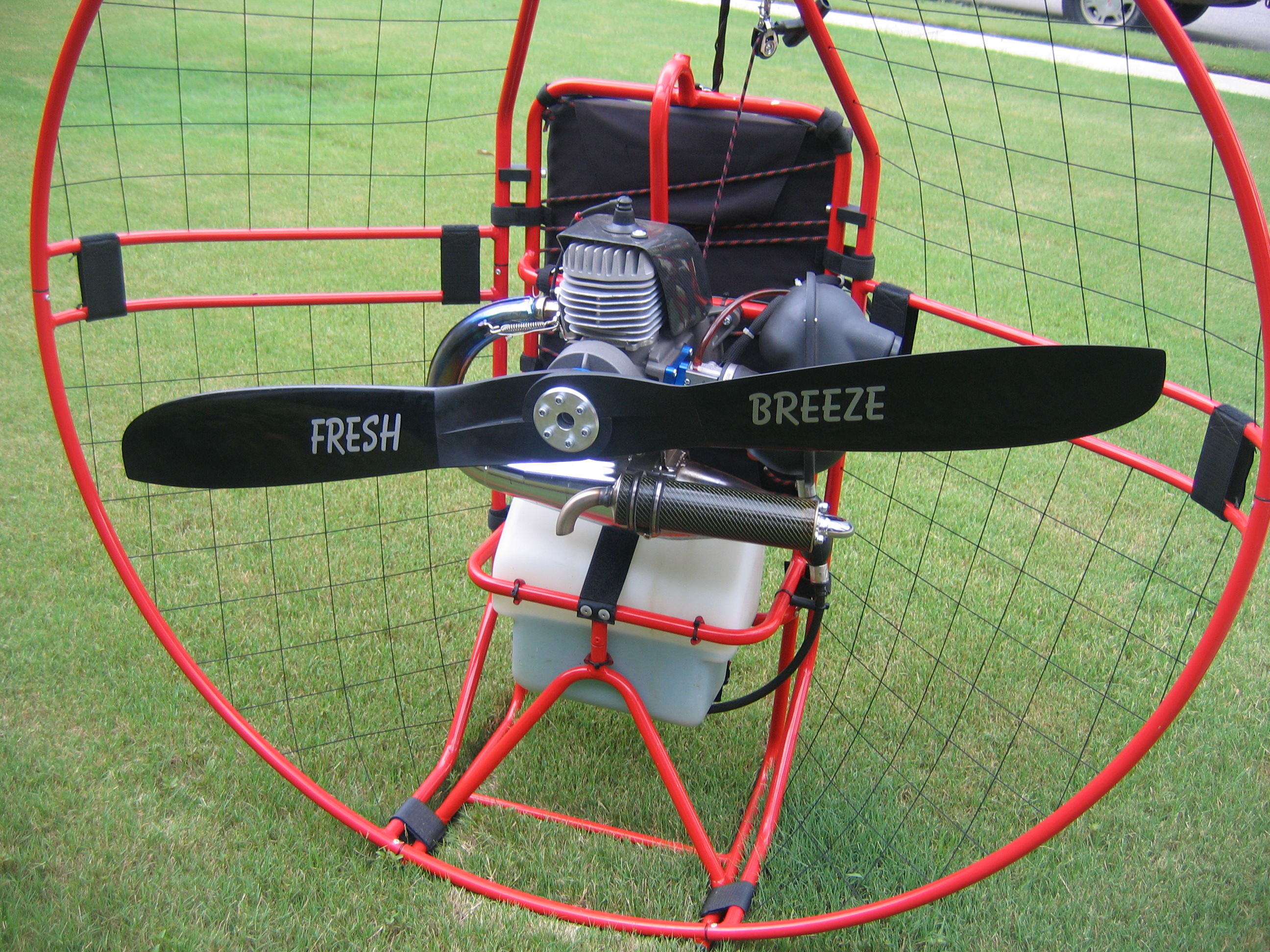 Rob's Paragliding Blog: New Snap 100 Prop